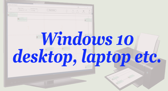 Windows 10 desktop, laptop etc.
